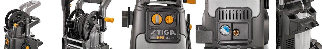 Достоинства Stiga HPS 650 RG