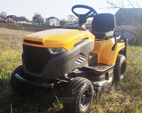 Трактора газонокосилки Stiga